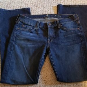 7 for all mankind jean's bootcut